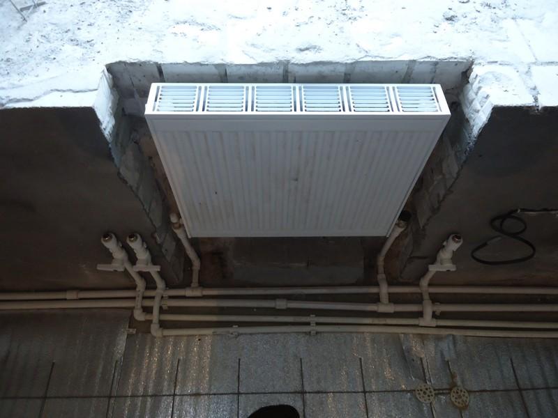 Монтаж отопления и теплого пола ЖК Взлетный