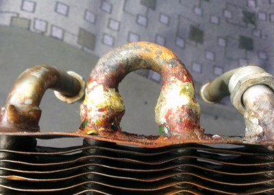 Ремонт теплообменника газовой колонки Астра