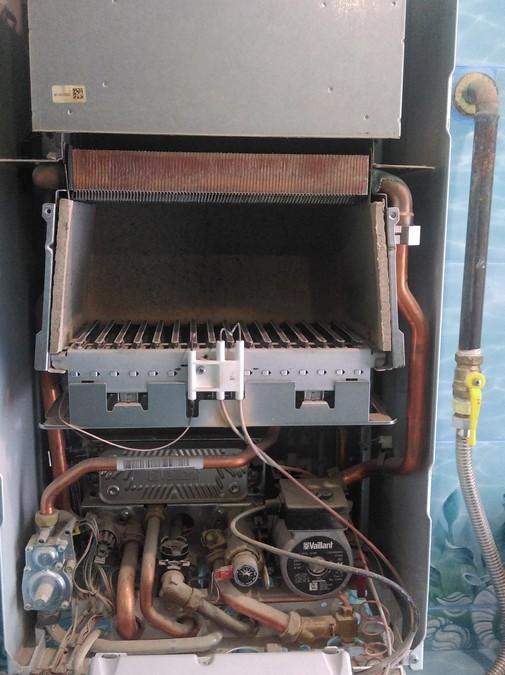 Техническое обслуживание настенного газового котла Vaillant Atmo Tec Pro