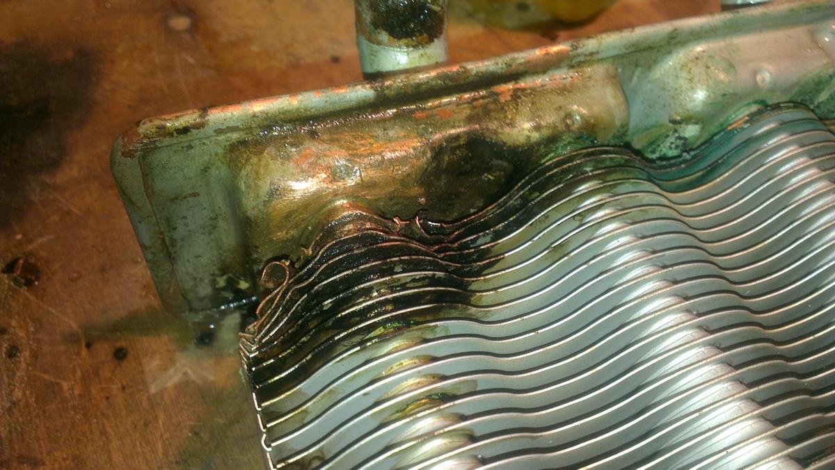 Ремонт дырявого теплообменника теплообменники гвс виды устройство и принцип работы