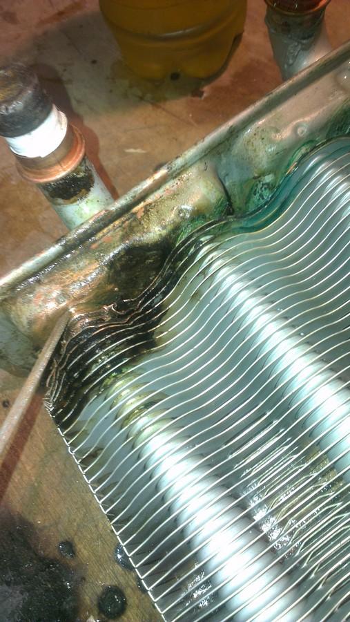Ремонт теплообменника газового котла своими руками 25