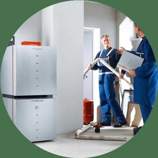 Монтаж установка систем отопления