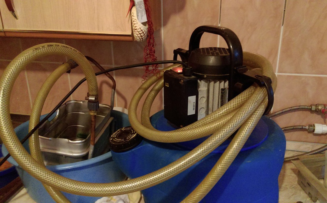 Ремонт газовой колонки Vaillant
