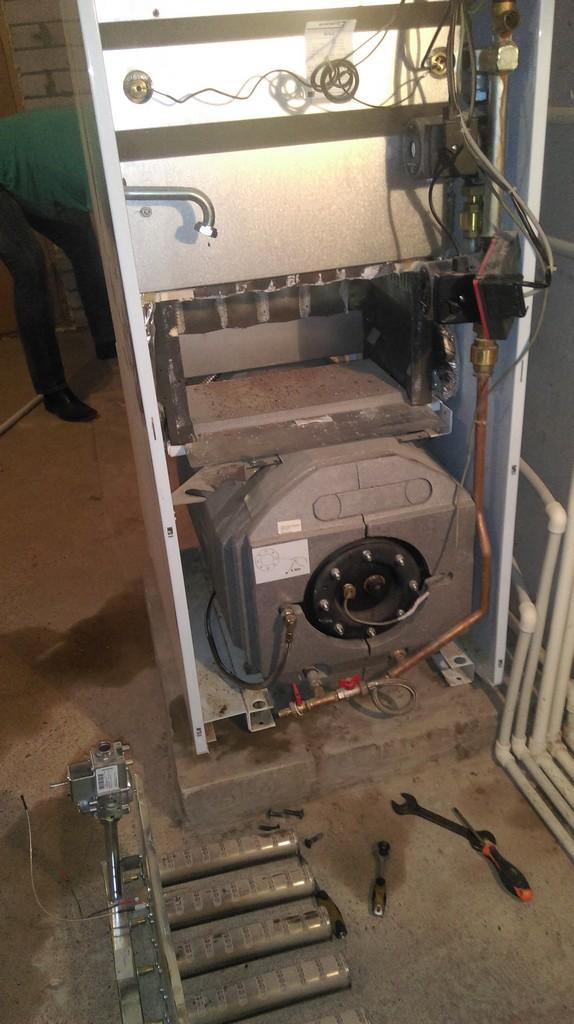 Как промыть газовый котел протерм своими руками