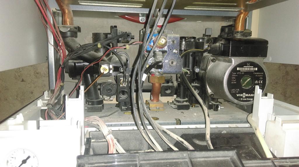 Промывка теплообменника vitopend 100 Кожухотрубный затопленный испаритель WTK FME 1040 Якутск