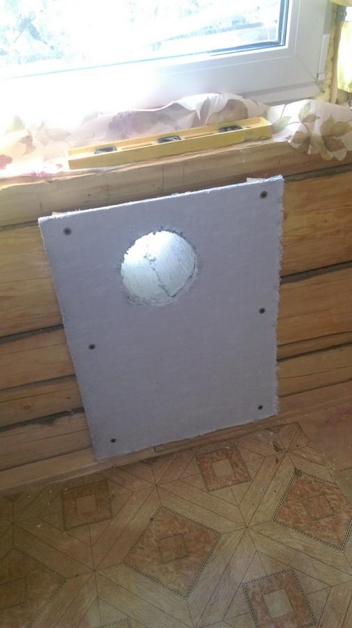 Установка газового конвектора в деревянном доме своими руками 95