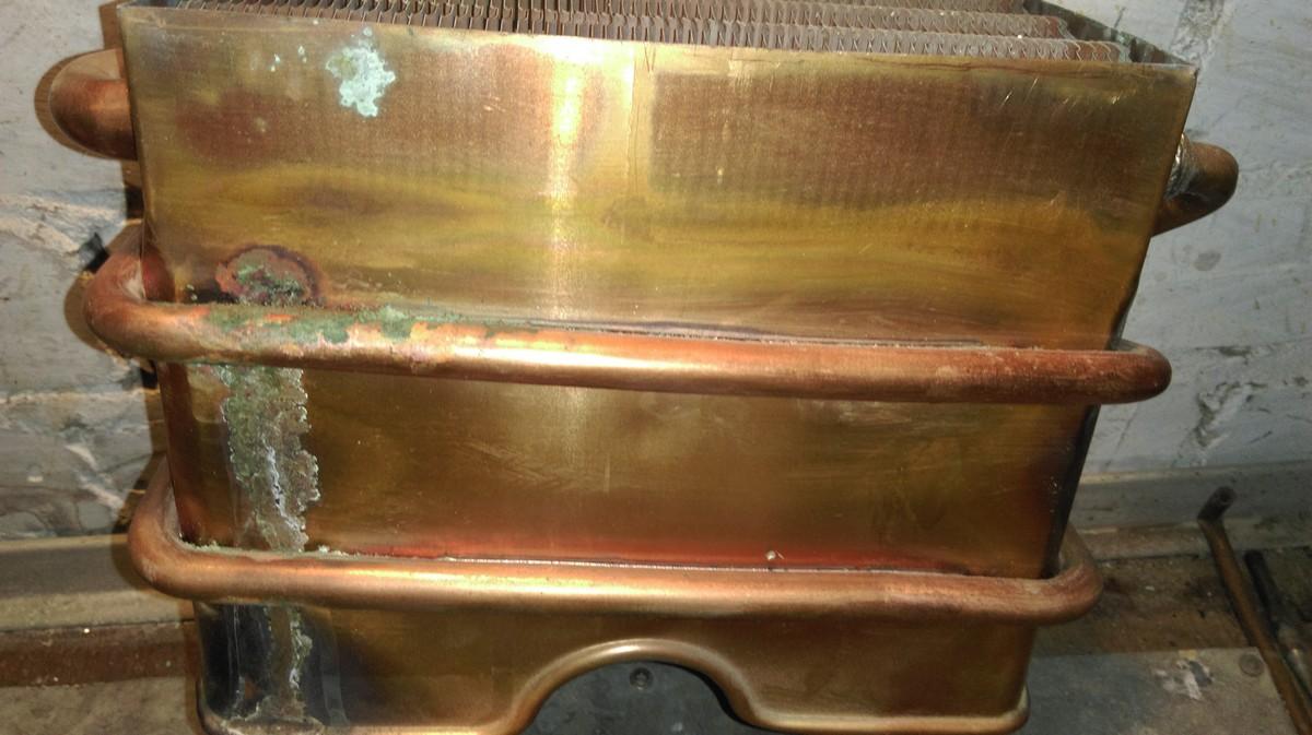 Как запаять теплообменник газовой колонки без канифоли теплообменник вода laval