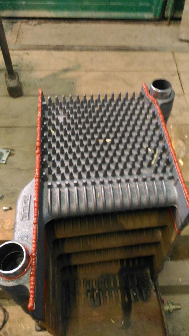 Замена чугунного теплообменника теплообменник системы отопления расход