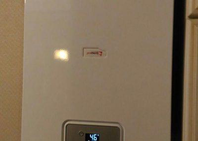 Монтаж настенного газового котла с закрытой камерой сгорания Protherm Gepard 23MTV, ул. Калинина