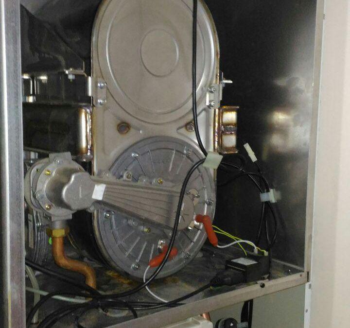 Техническое обслуживание настенного газового конденсатного котла Baxi Luna HT 1.4, ул. Горького