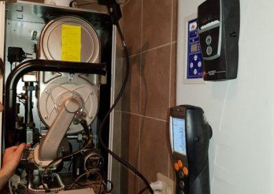 Пуско-наладочные работы газового конденсационного котла Vaillant ecoTECplus 65 кВт, Куземетьево