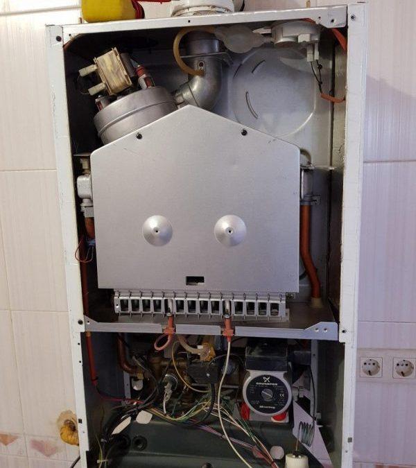 Техническое обслуживание газового котла Baxi Luna 3 — не обслуживался 3 года