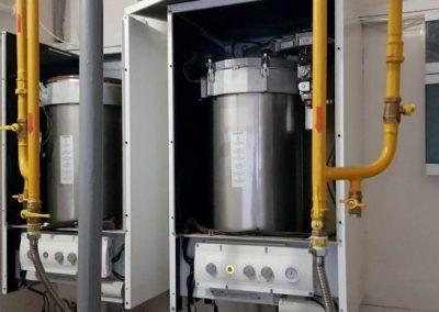 Техническое обслуживание 2-х настенных газовых конденсационных котлов Wolf, РТ, Новошешминский район, Азеево