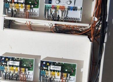 Монтаж, настройка погодозависимой автоматики управления отоплением Vaillant
