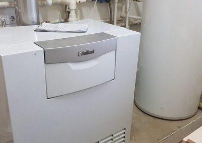 Техническое обслуживание напольного газового котла Vaillant atmoVIT