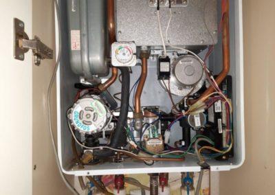 Промывка вторичного теплообменника газового котла Celtic