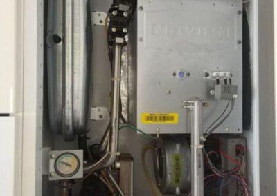 Газовый котел Navien Ace — проведено техническое обслуживание, замена расширительного бочка. Поселок Салмачи, улица Мирхайдара Файзи